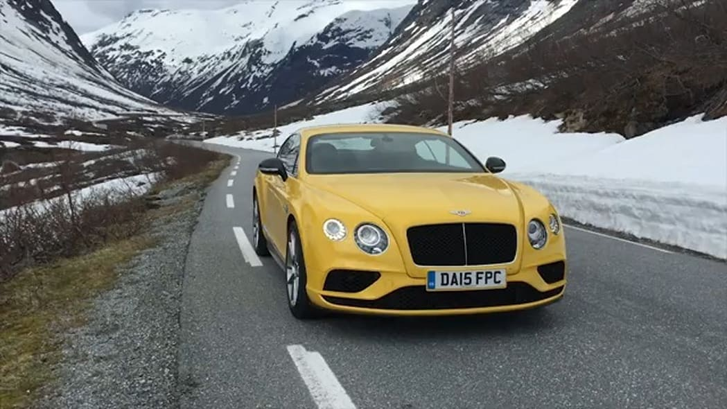 2016 Bentley Continental GT in Norway | On Location