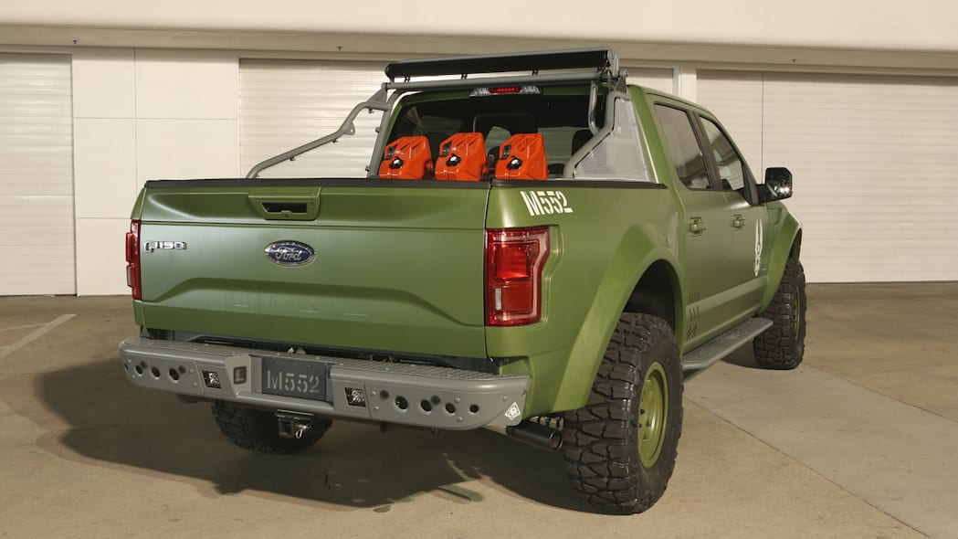 Ford F-150 Halo Sandcat rear 3/4