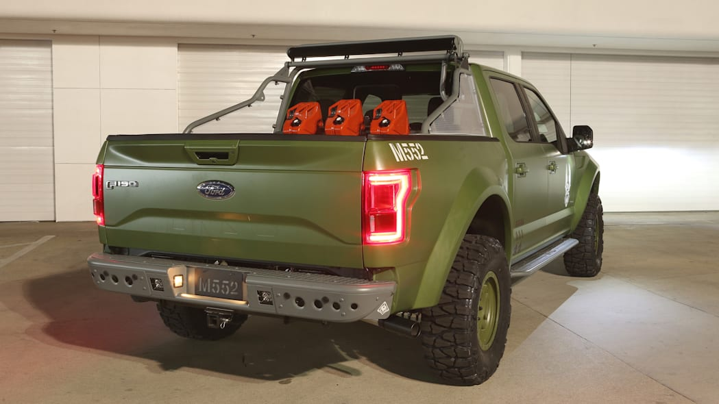 Ford F-150 Halo Sandcat rear 3/4 lights