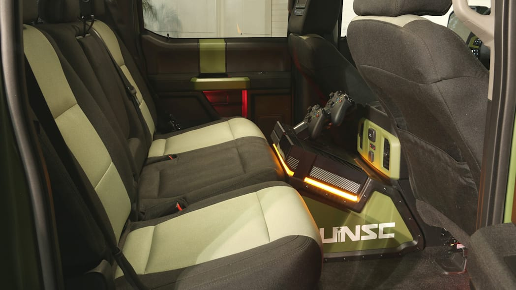 Ford F-150 Halo Sandcat interior xbox