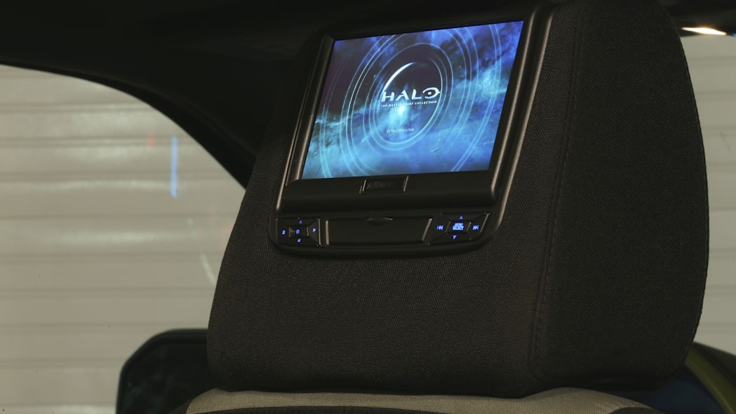 Ford F-150 Halo Sandcat monitor screen display