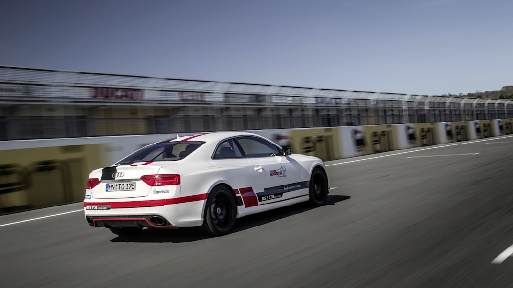 Audi RS5 TDI Competition Concept Sachsenring lap record