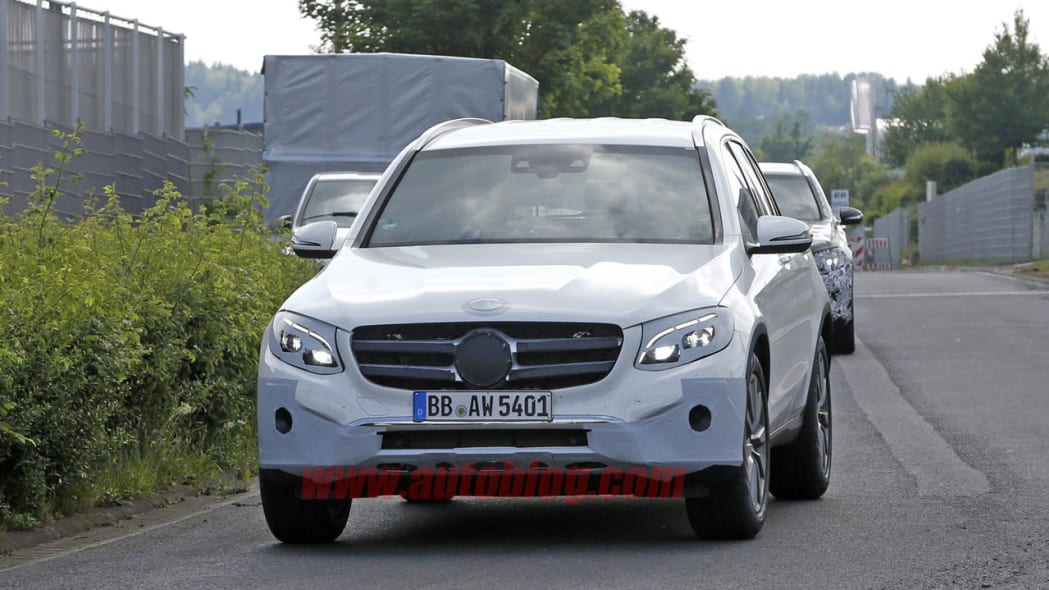 Mercedes-Benz GLC-Class spotted undisguised