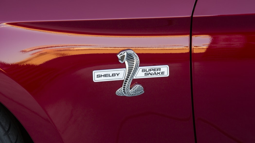 2015 Shelby Super Snake badge