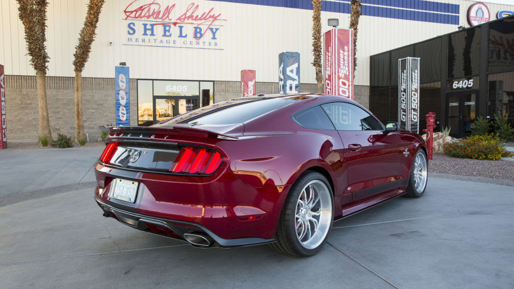 2015 Shelby Super Snake rear 3/4