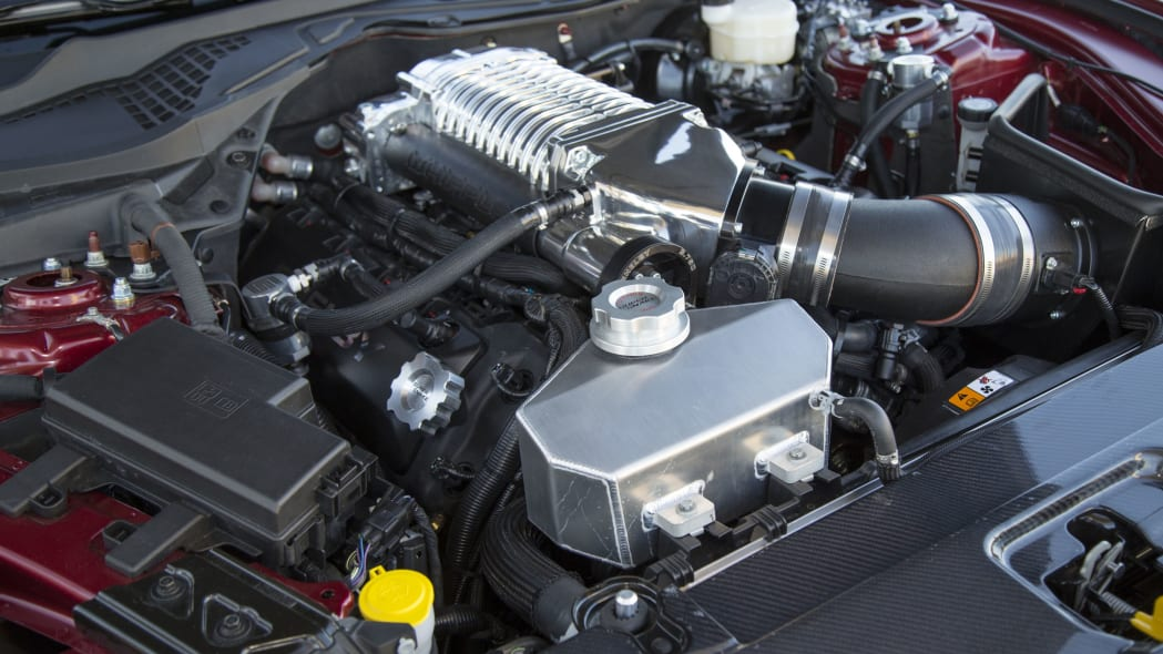 2015 Shelby Super Snake engine upgrades