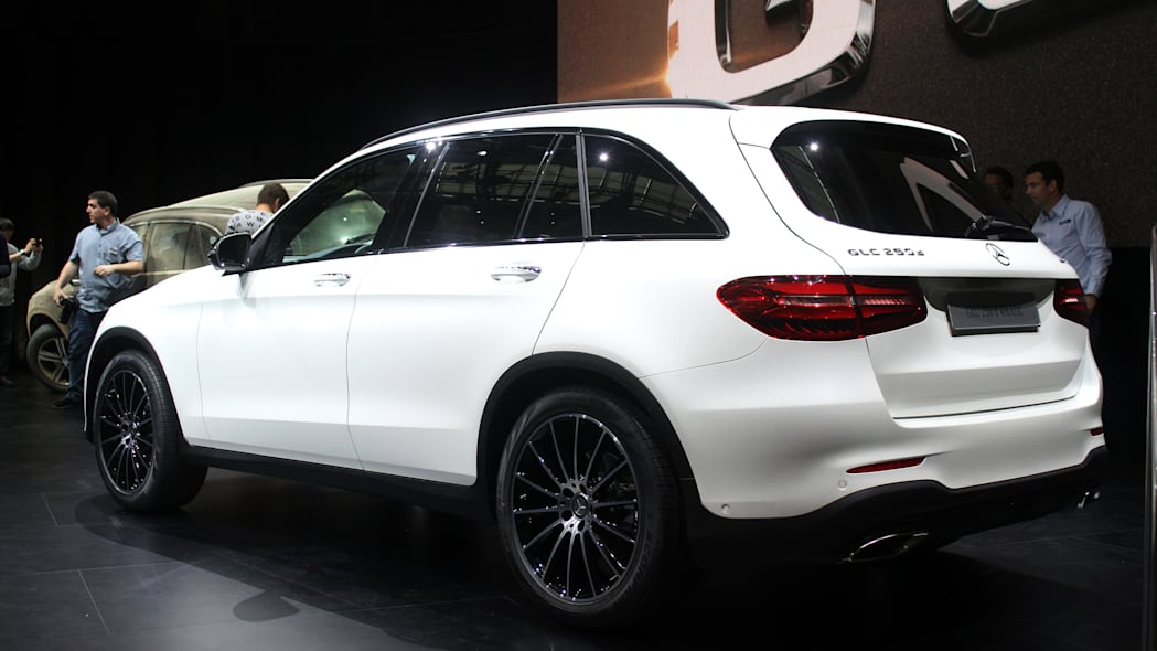 2016 Mercedes-Benz GLC 250d rear three-quarter.