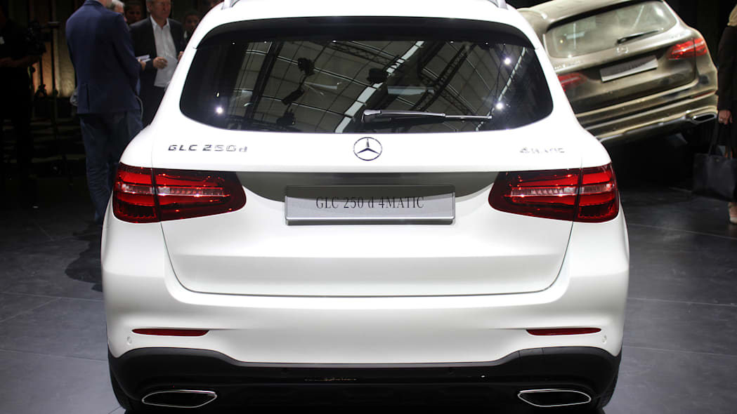 2016 Mercedes-Benz GLC 250d rear view.
