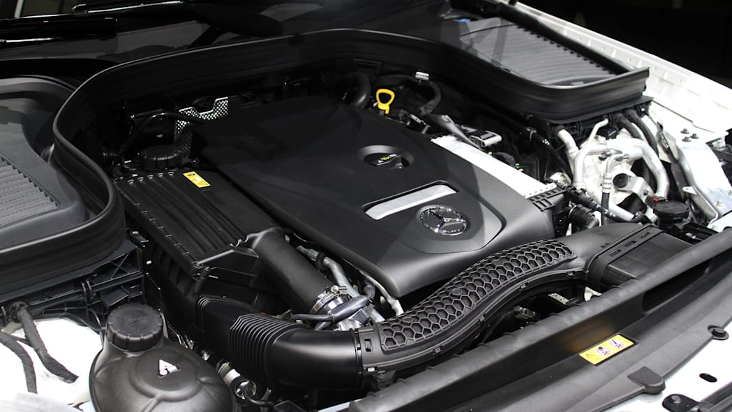 2016 Mercedes-Benz GLC 250d engine.