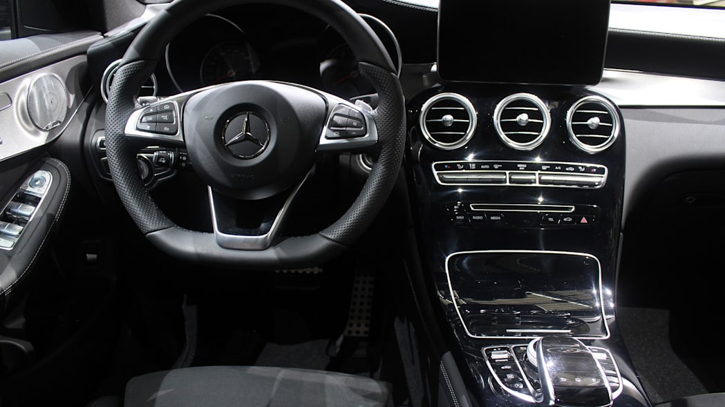 2016 Mercedes-Benz GLC 250d dashboard.