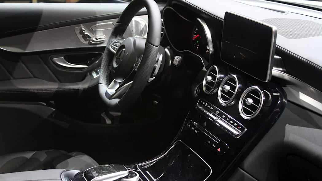 2016 Mercedes-Benz GLC 250d interior, opposite view.