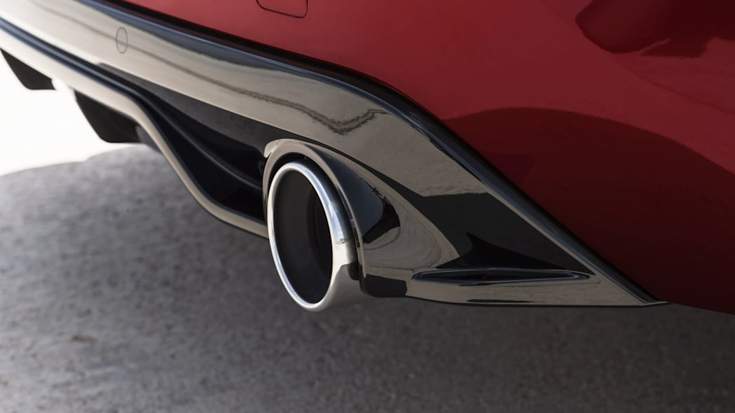 Peugeot 308 GTi exhaust pipe