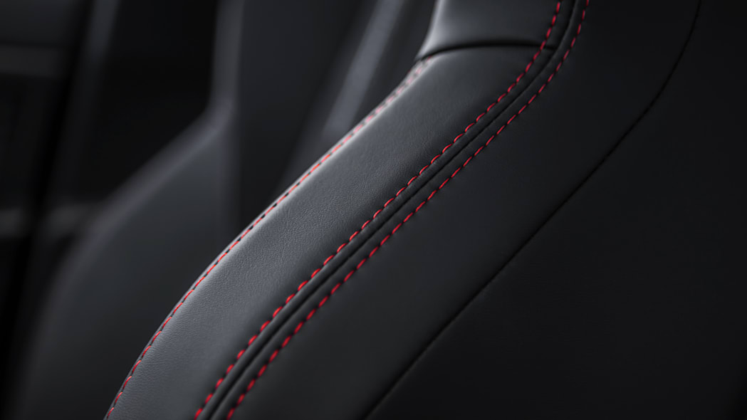 Peugeot 308 GTi red stitching