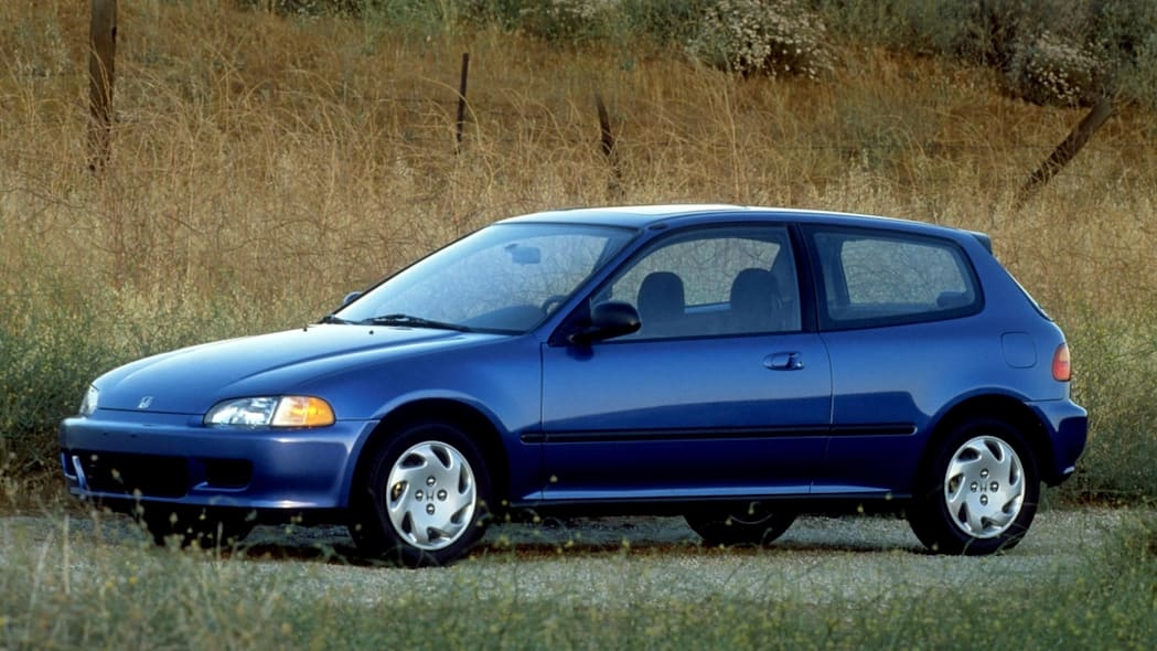 1992 Honda Civic Si blue side front