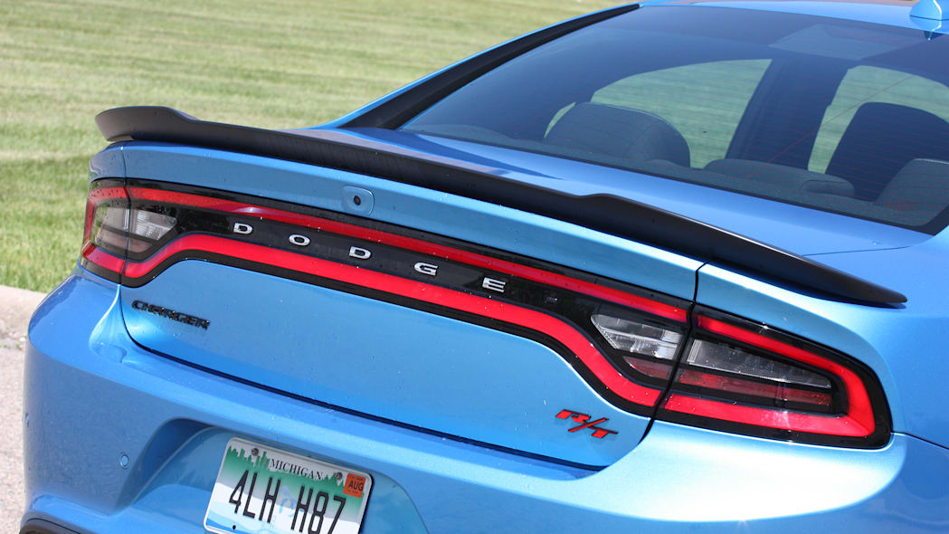 2015 Dodge Charger R/T Scat Pack taillights