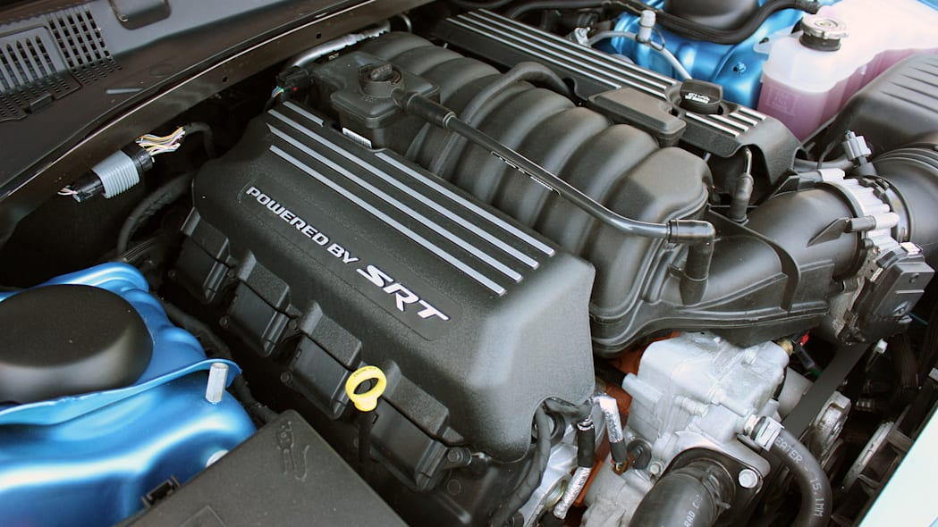 2015 Dodge Charger R/T Scat Pack engine