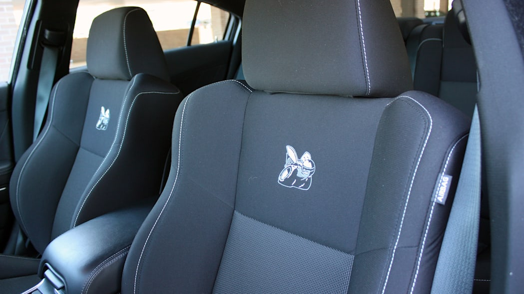 2015 Dodge Charger R/T Scat Pack seats