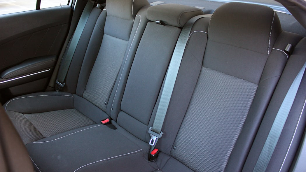 2015 Dodge Charger R/T Scat Pack rear seats