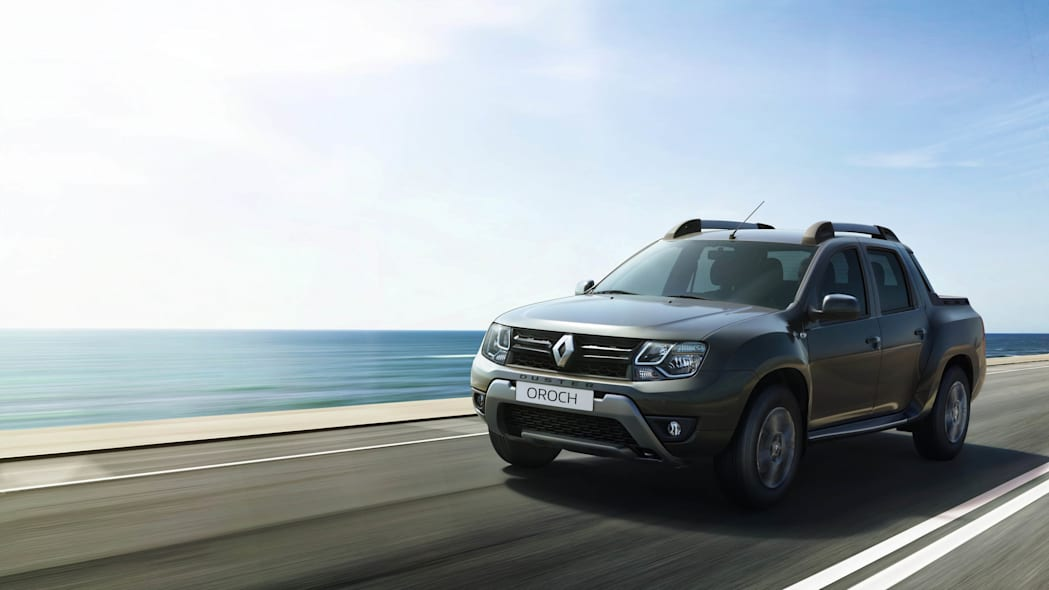 Renault Duster Oroch front 3/4