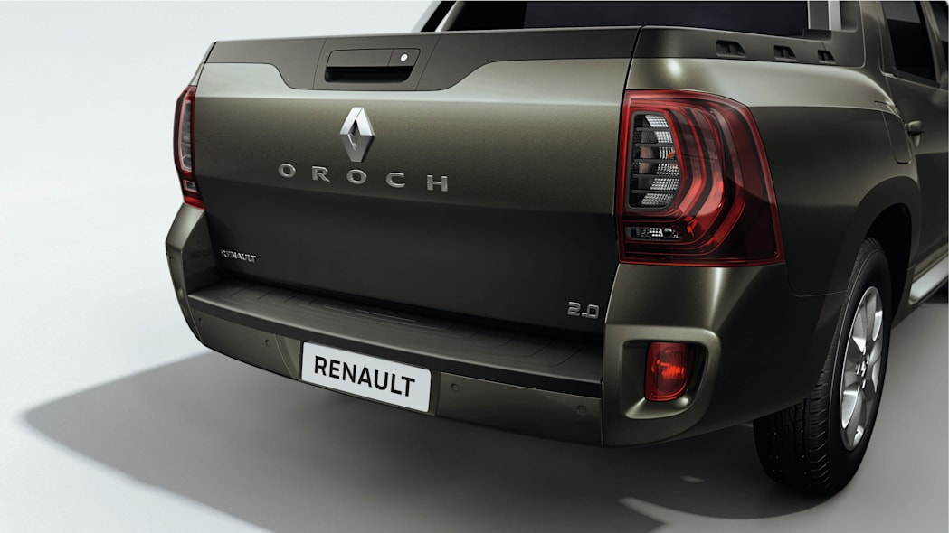 Renault Duster Oroch tailgate