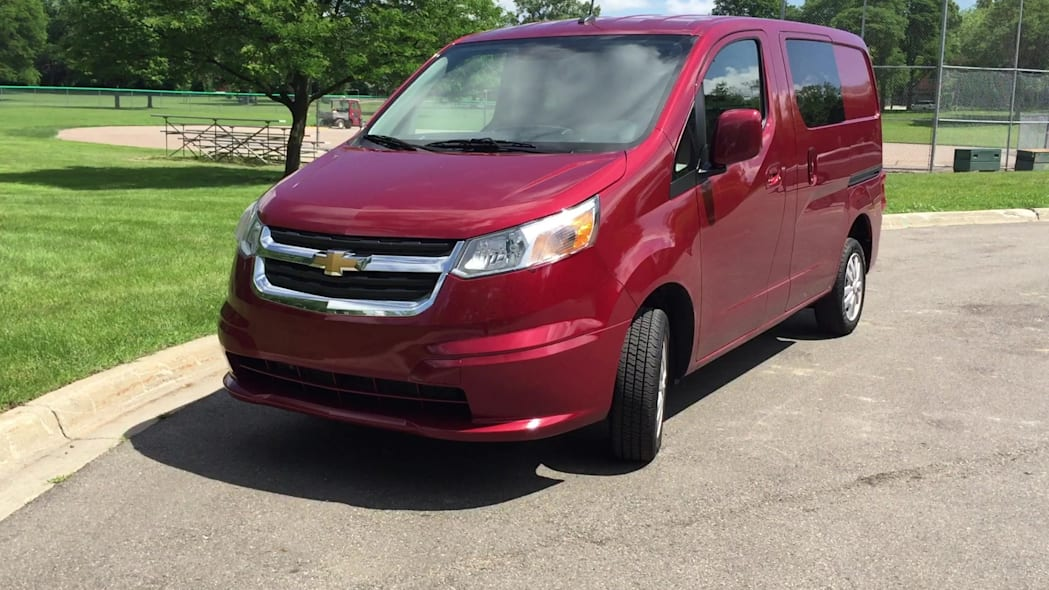 2015 Chevrolet City Express Front-End Badging | Autoblog Short Cuts