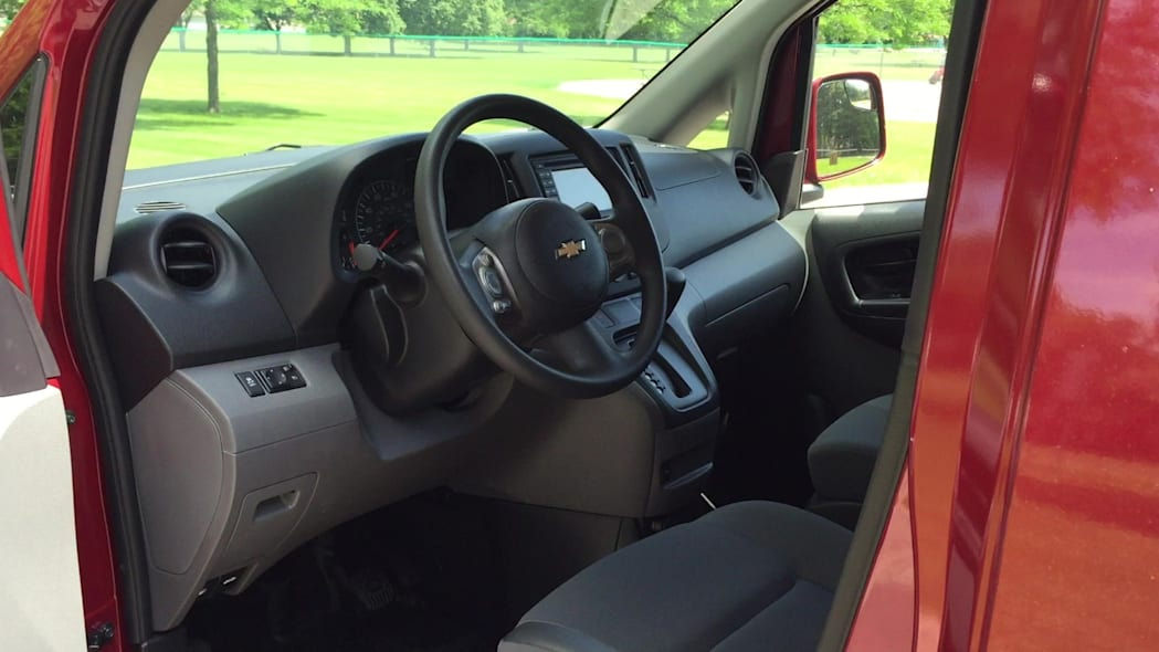 2015 Chevrolet City Express Interior | Autoblog Short Cuts