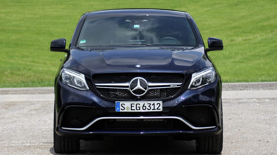 2016 Mercedes-Benz GLE Coupe front view