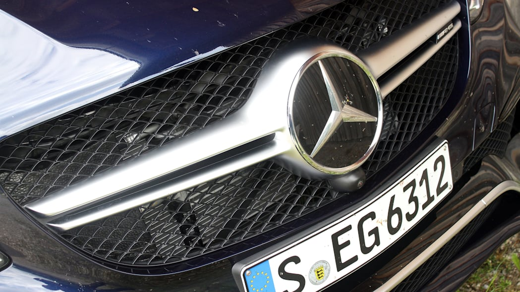 2016 Mercedes-Benz GLE Coupe grille