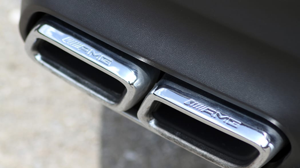 2016 Mercedes-Benz GLE Coupe exhaust tips