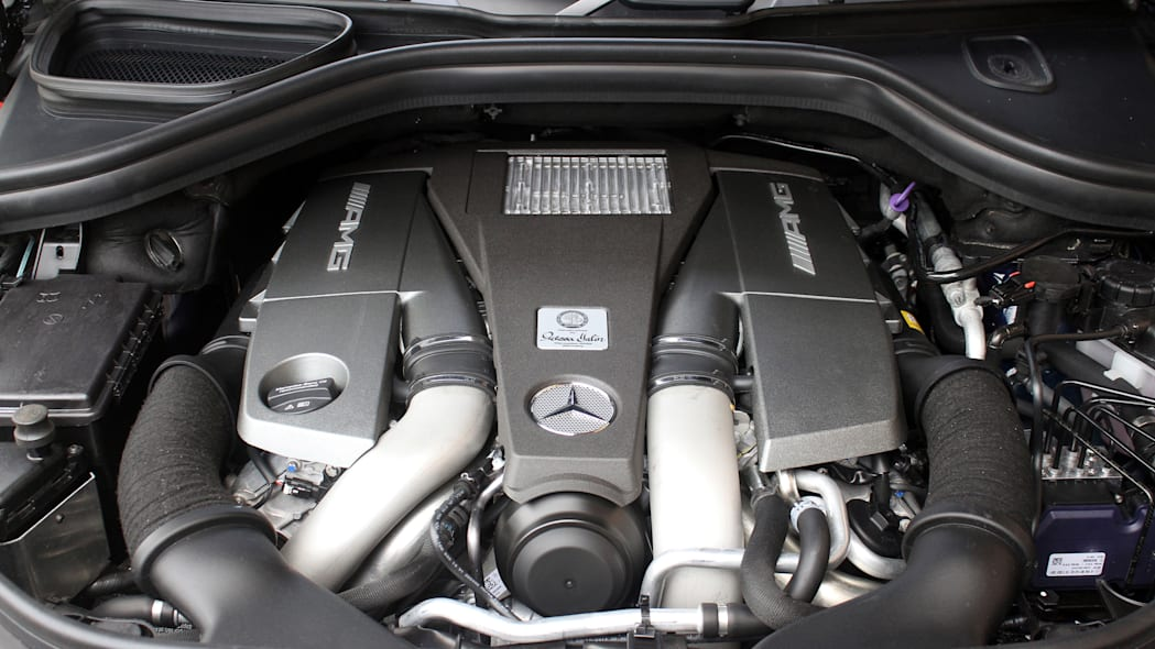 2016 Mercedes-Benz GLE Coupe engine
