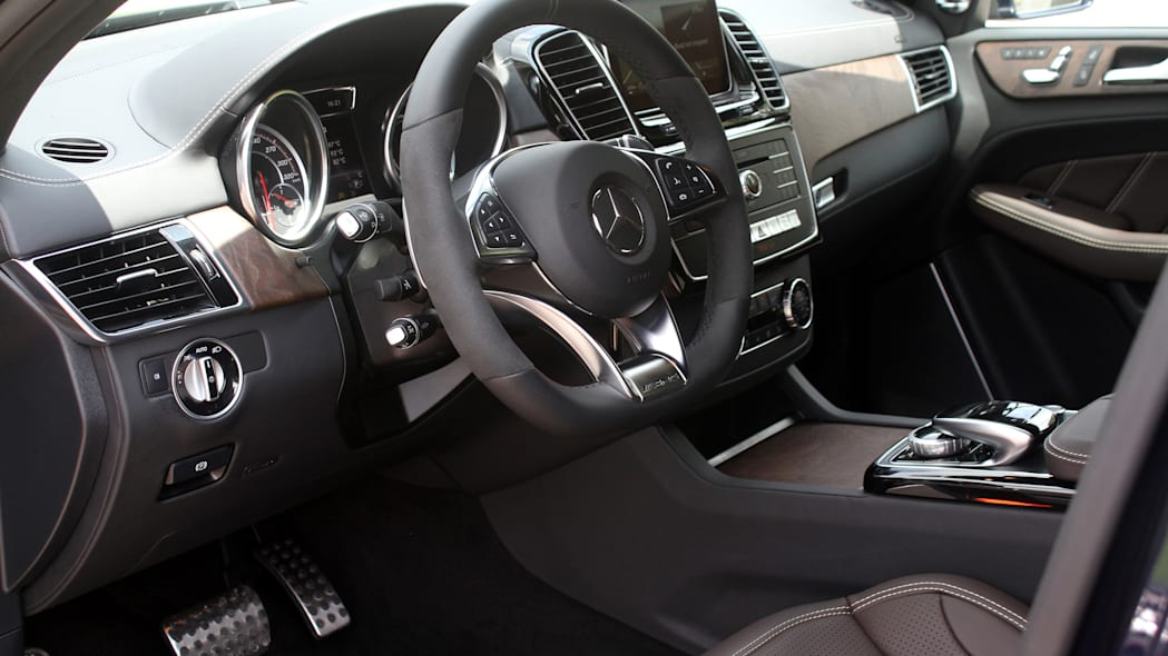 2016 Mercedes-Benz GLE Coupe interior