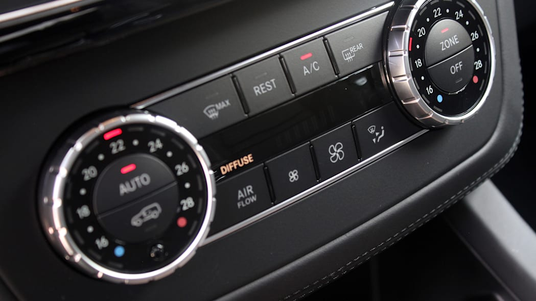 2016 Mercedes-Benz GLE Coupe climate controls