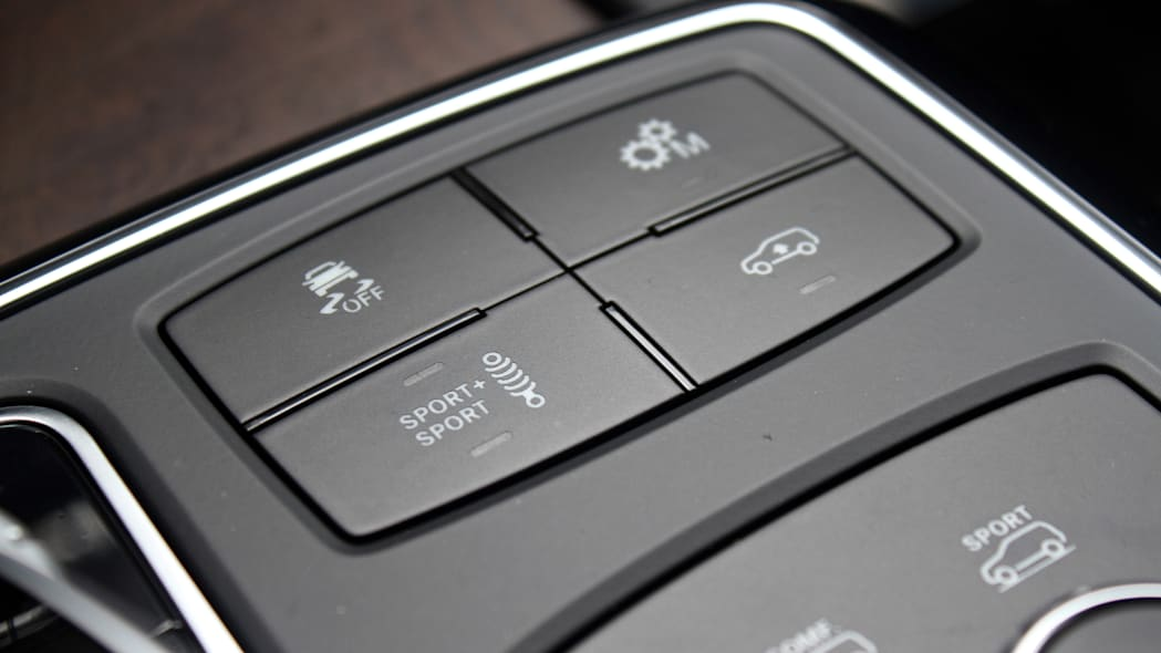 2016 Mercedes-Benz GLE Coupe drive modes
