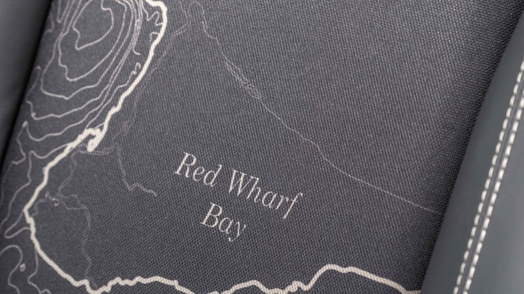 Land Rover Defender 2,000,000 seat red wharf bay