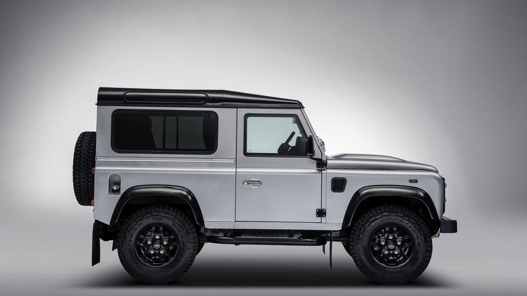 Land Rover Defender 2,000,000 side