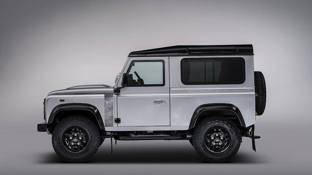 Land Rover Defender 2,000,000 side view