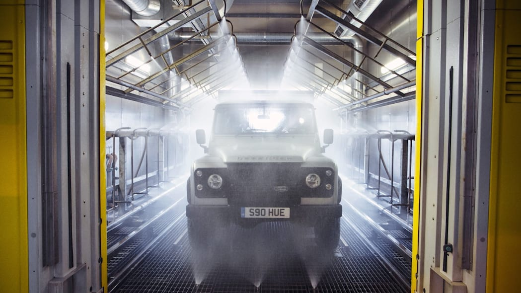 Land Rover Defender 2,000,000 paint