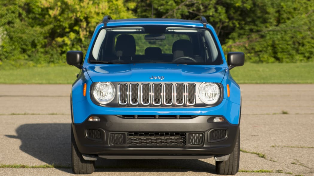 front jeep renegade grill headlights 2015