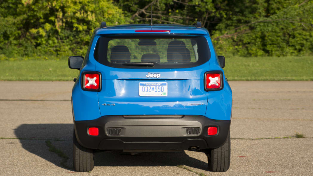 renegade jeep rear taillights blue jerry can