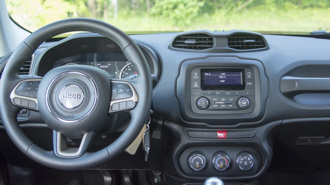 renegade dash 2015 jeep radio steering wheel