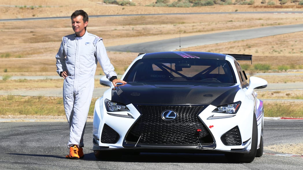Lexus RC F GT Concept Justin Bell
