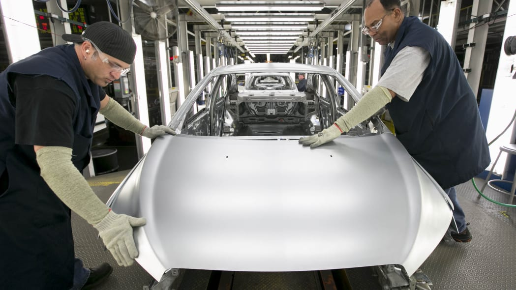 GM Orion Assembly Plant panel inspection