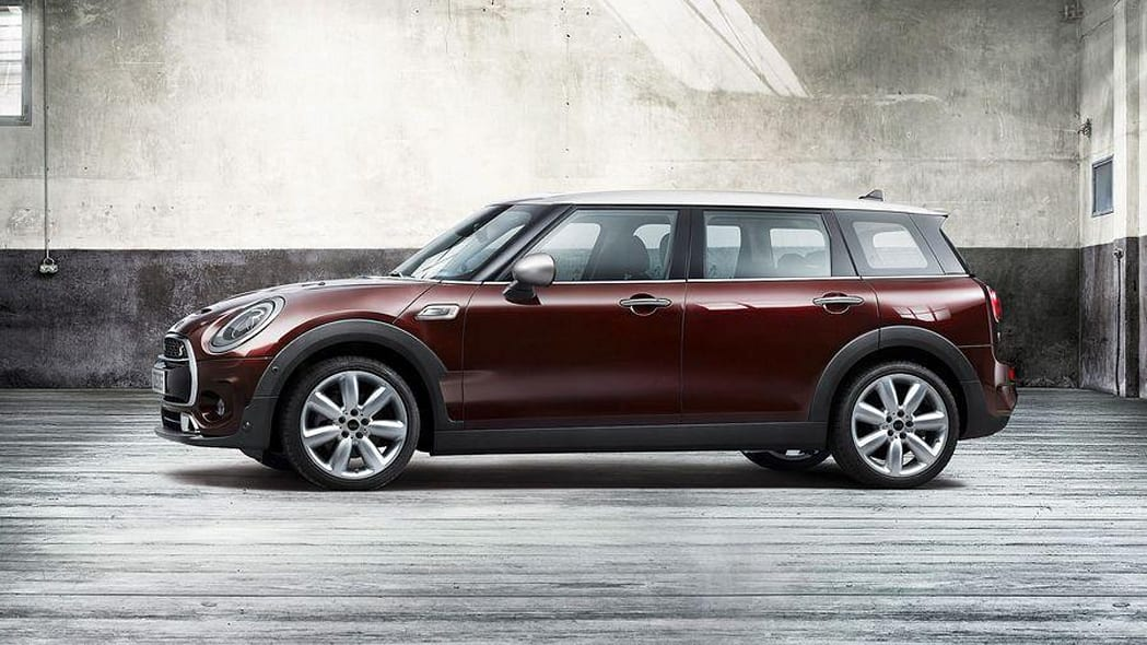 2016 Mini Clubman Cooper S front side 3/4