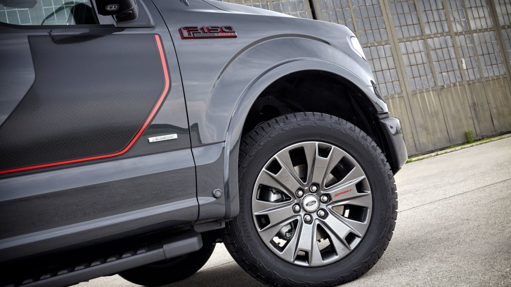 gray 2016 ford-150 lariat appearance package wheels