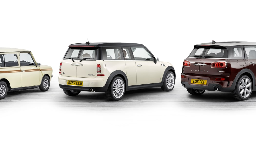 2016 Mini Clubman evolution