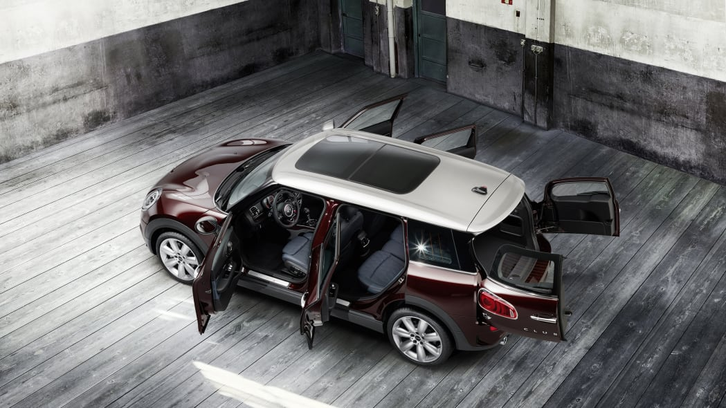2016 Mini Cooper S Clubman rear above 3/4 doors