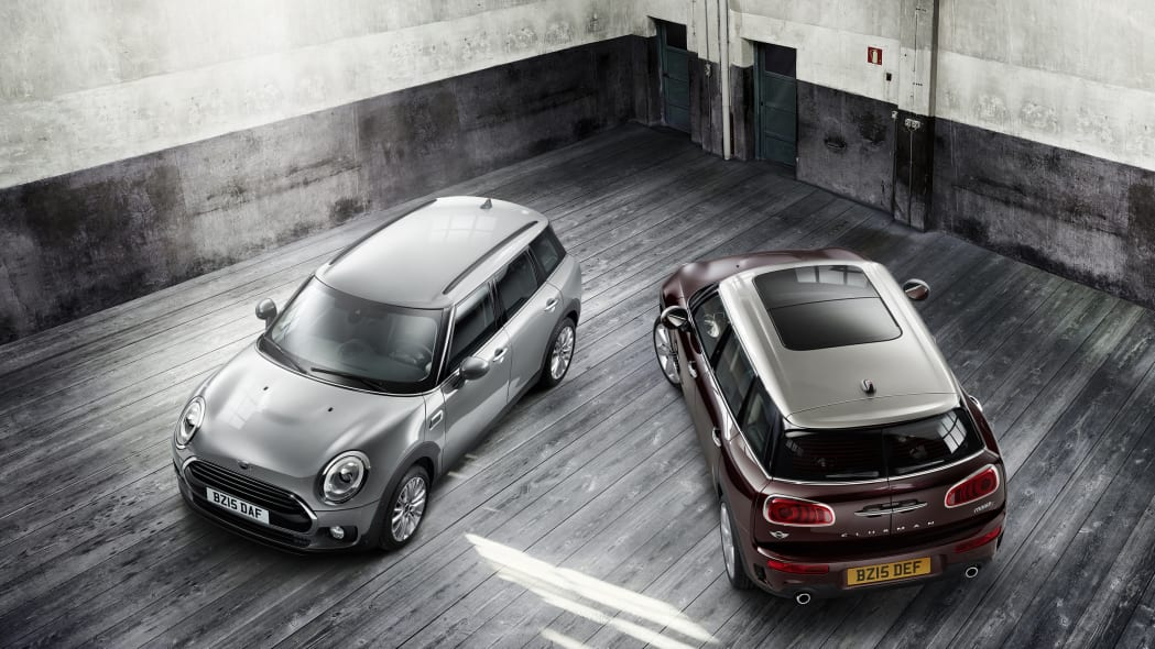 2016 Mini Clubman pair above