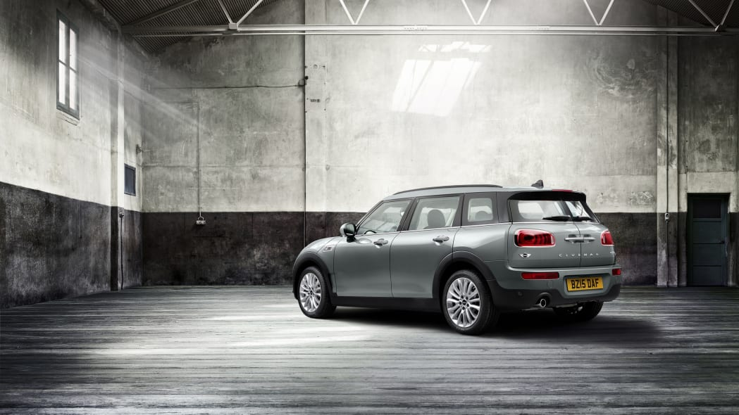 2016 Mini Clubman rear 3/4