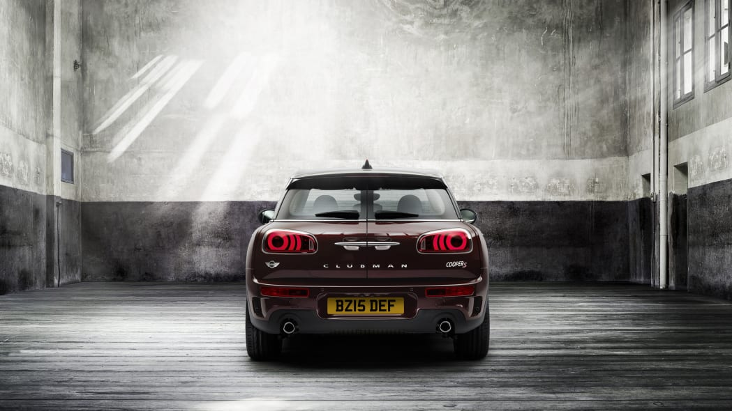 2016 Mini Cooper S Clubman rear