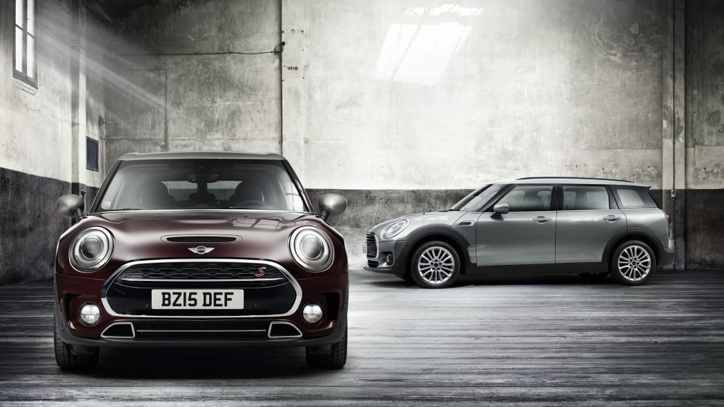 2016 Mini Clubman pair front side